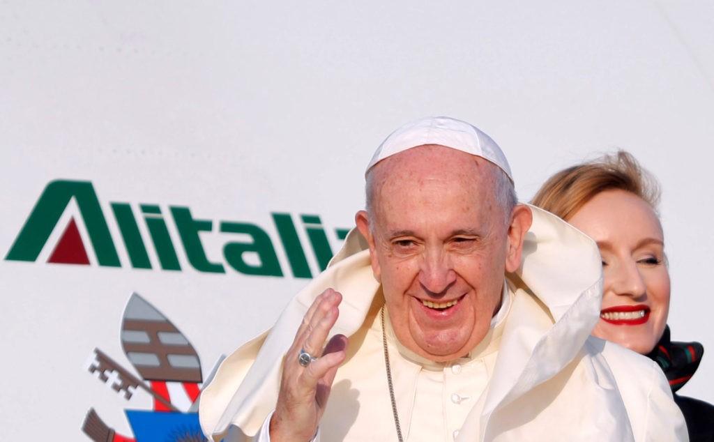 Francisco em África pelos mais pobres