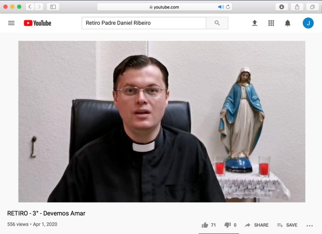 Retiro Pascal no YouTube