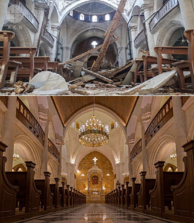 Catedral maronita de Aleppo reabre ao culto