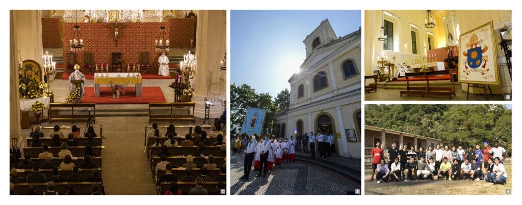 IMACULADA CONCEIÇÃO, ANIVERSÁRIO DO PAPA FRANCISCO E FACULDADE DE ESTUDOS DAS RELIGIÕES E FILOSOFIA