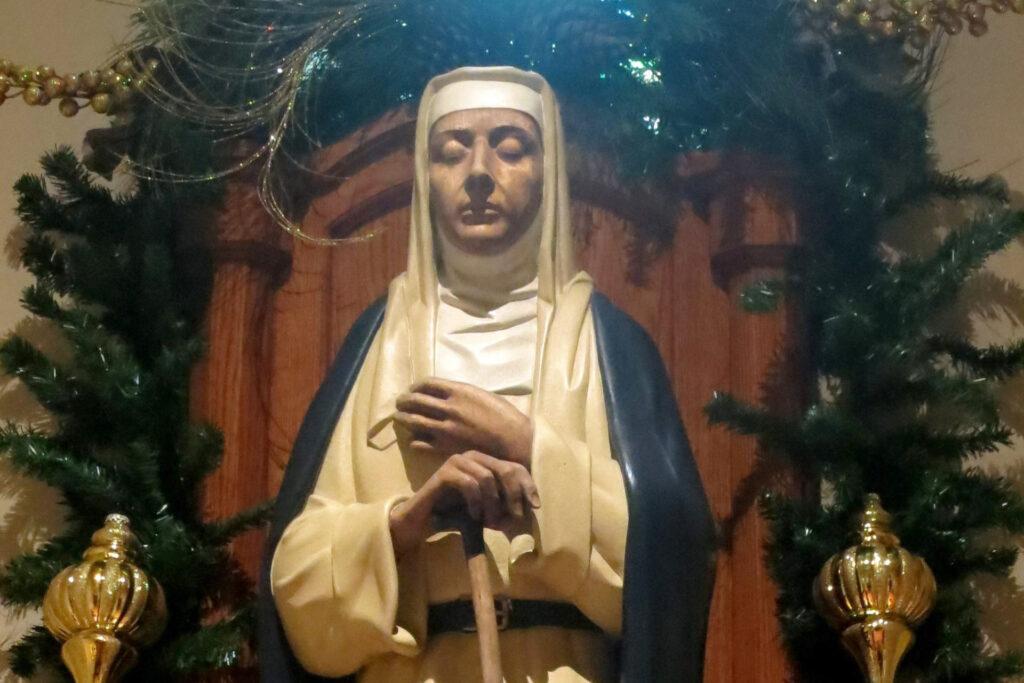 Papa canoniza Margarida de Città de Castello