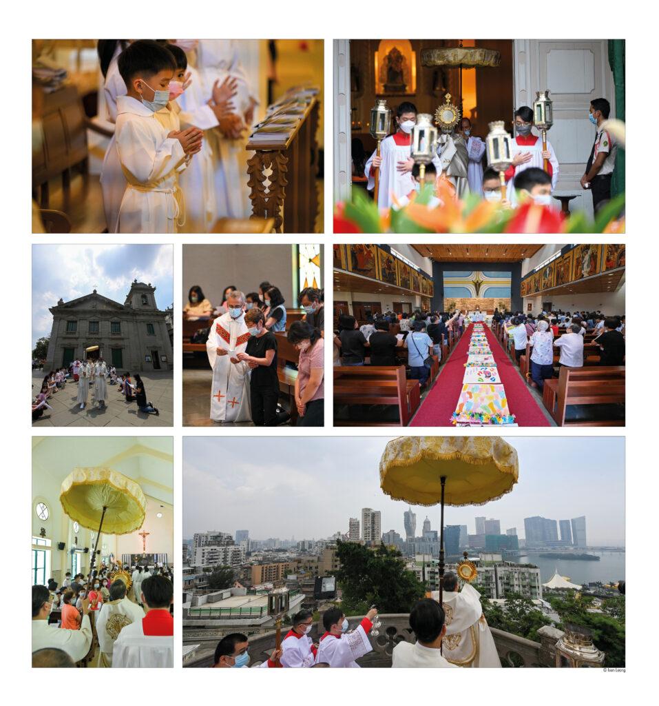 Corpo e Sangue de Cristo iluminou Macau