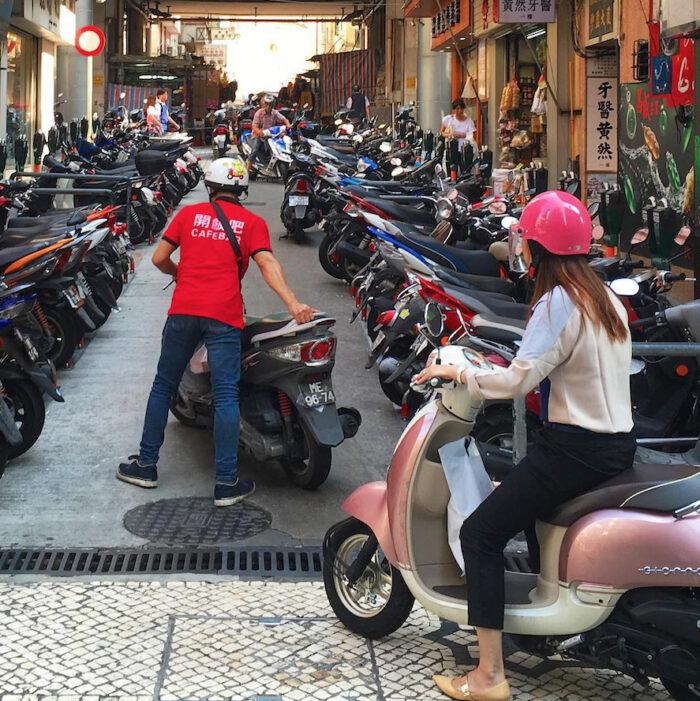 Restrições ao transporte de passageiros nas motas