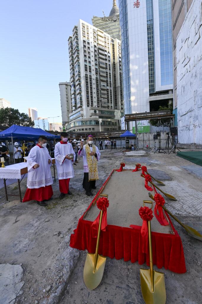 Centro Católico deverá estar concluído em 2024
