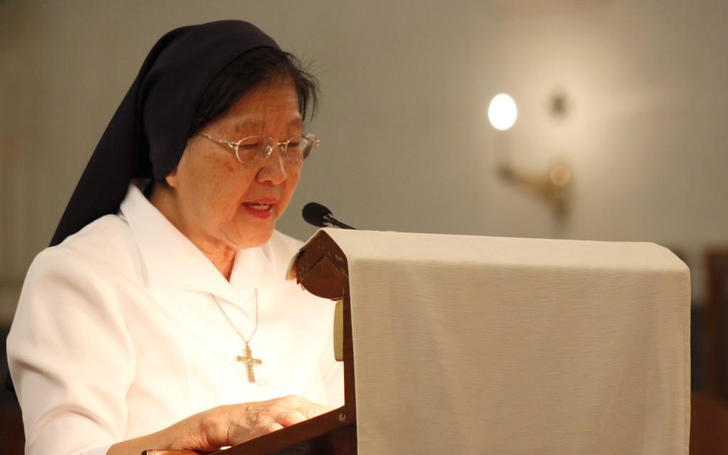 母佑會吳如琴修女代表籌委會開幕致辭