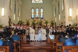 12月5日主教座堂進行校慶感恩祭及福音劇