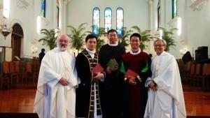 12月5日主教座堂進行校慶感恩祭及福音劇後合照