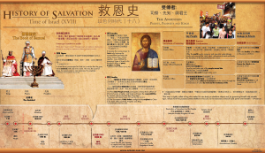 Timeline of the History of Salvation XVIII