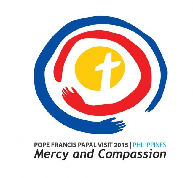 Papal Visit to the Philippines logo