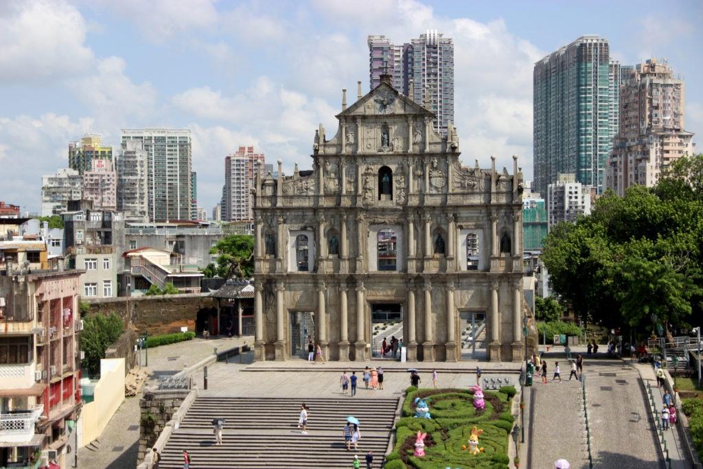 Missa nas Ruínas de São Paulo