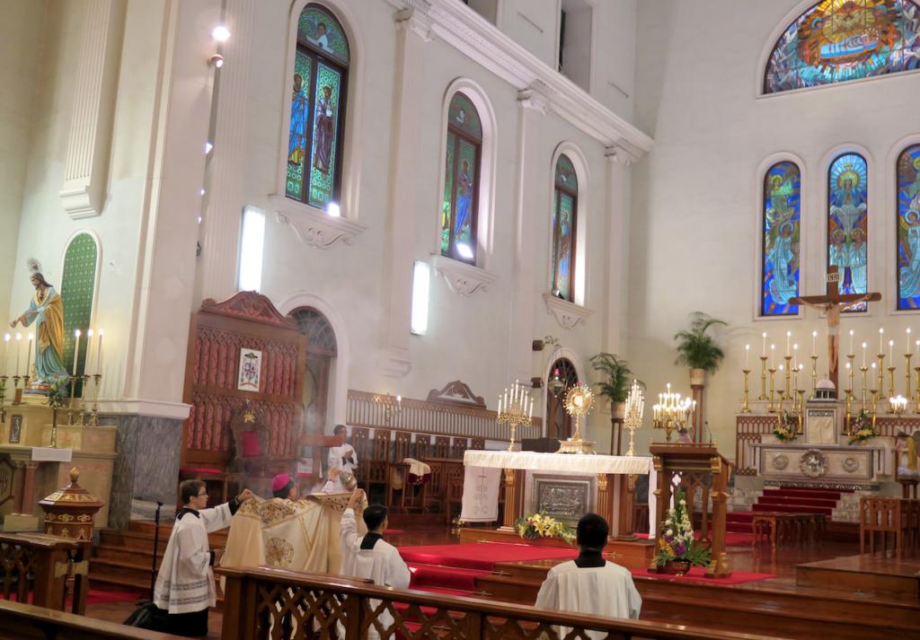 Igreja em Macau rezou pela Nação Chinesa