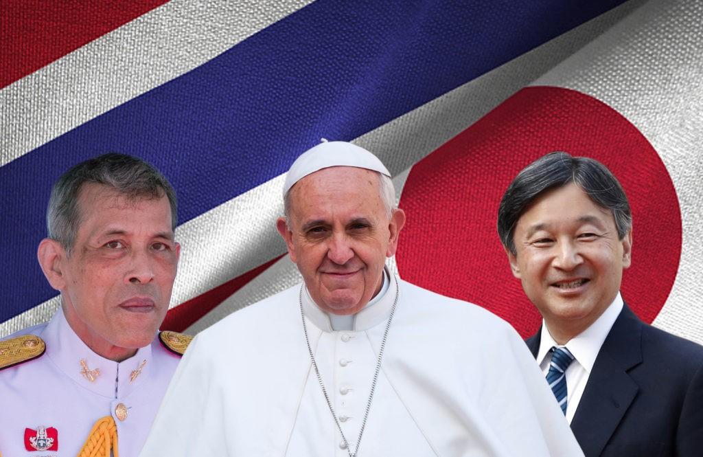 VISITA PAPAL À TAILÂNDIA E JAPÃO