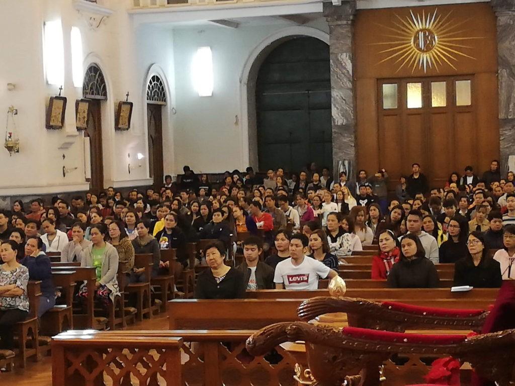 Comunidade filipina prepara a Simbang Gabi
