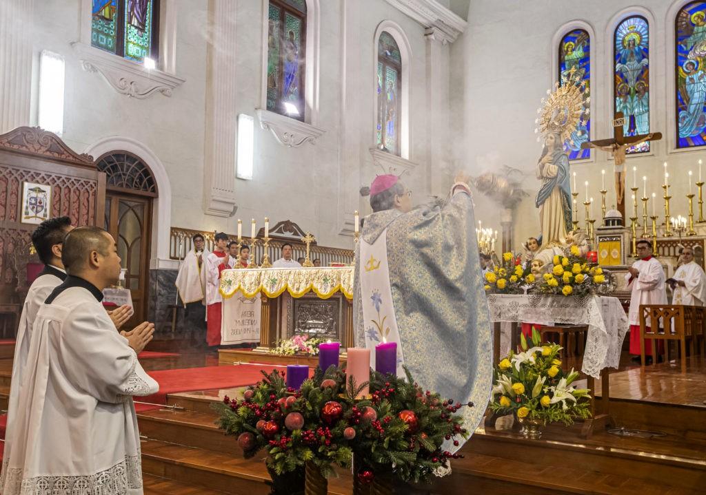 Paróquias de Macau celebram padroeiras e nascimento de Bergoglio