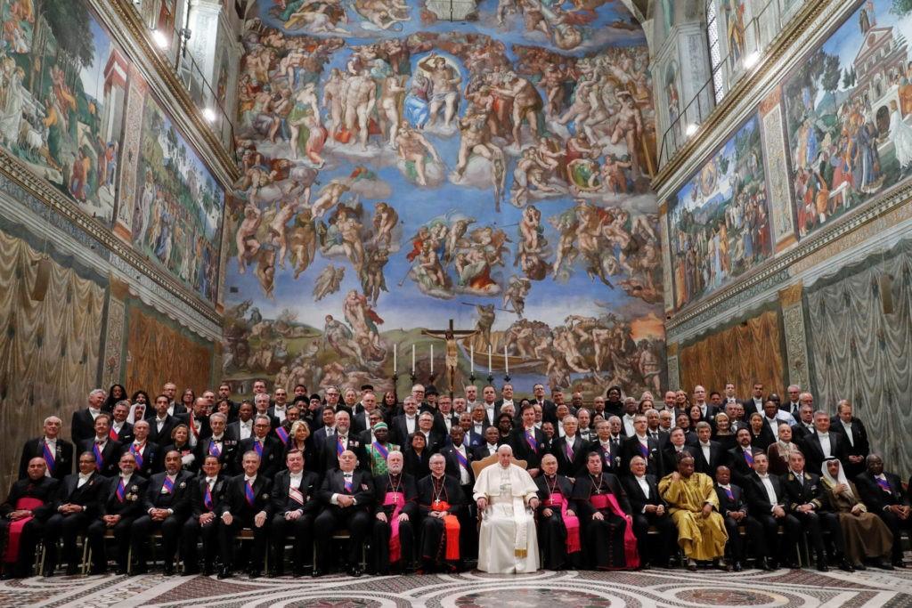 Papa pede fim das armas nucleares e reforma da ONU