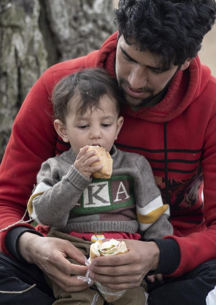 Um rosto de criança em Idlib