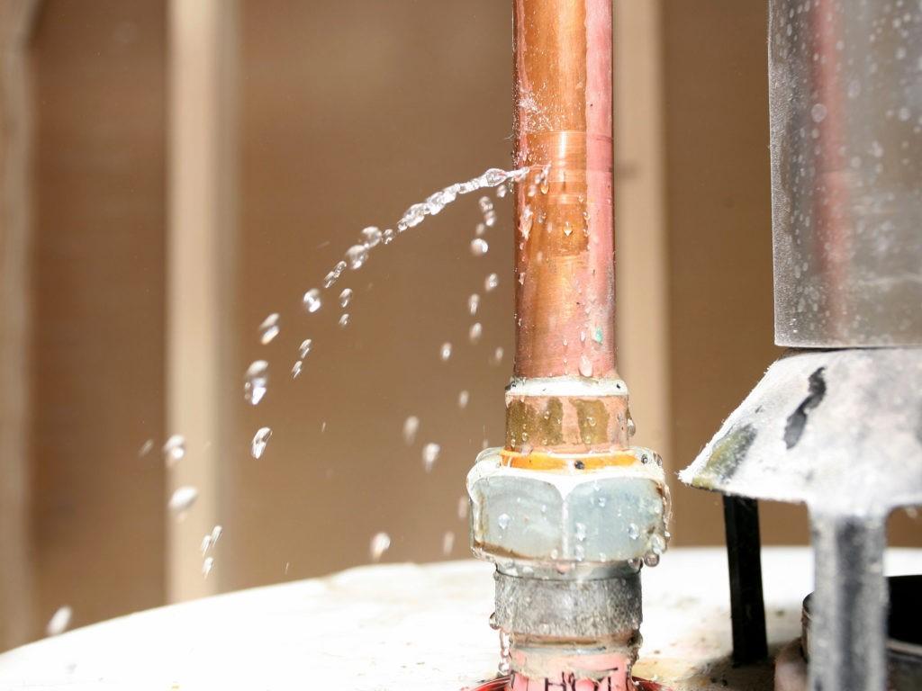Tratamento de infiltrações de água nos edifícios