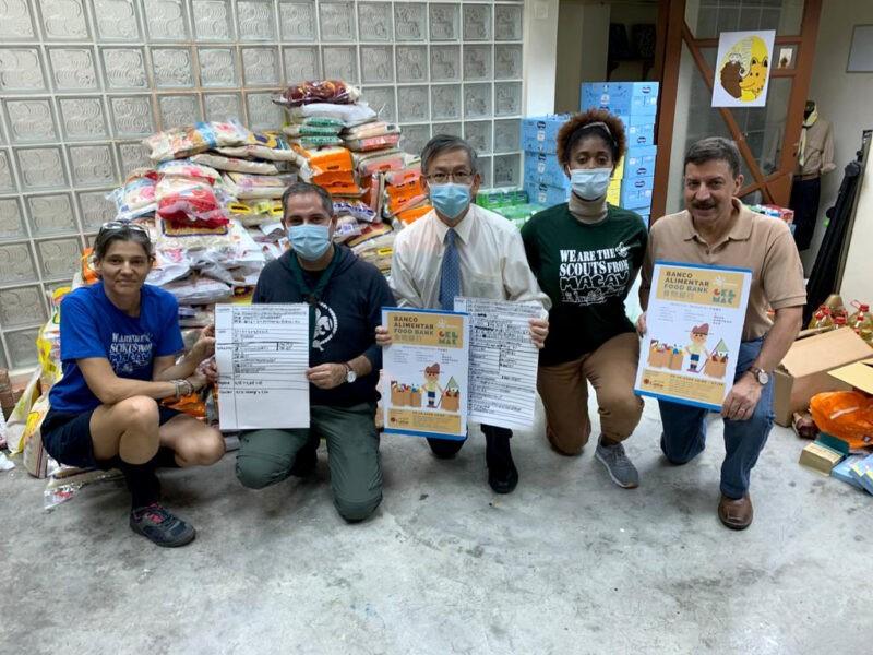 Cáritas distribuiu mil cabazes em dia de aniversário