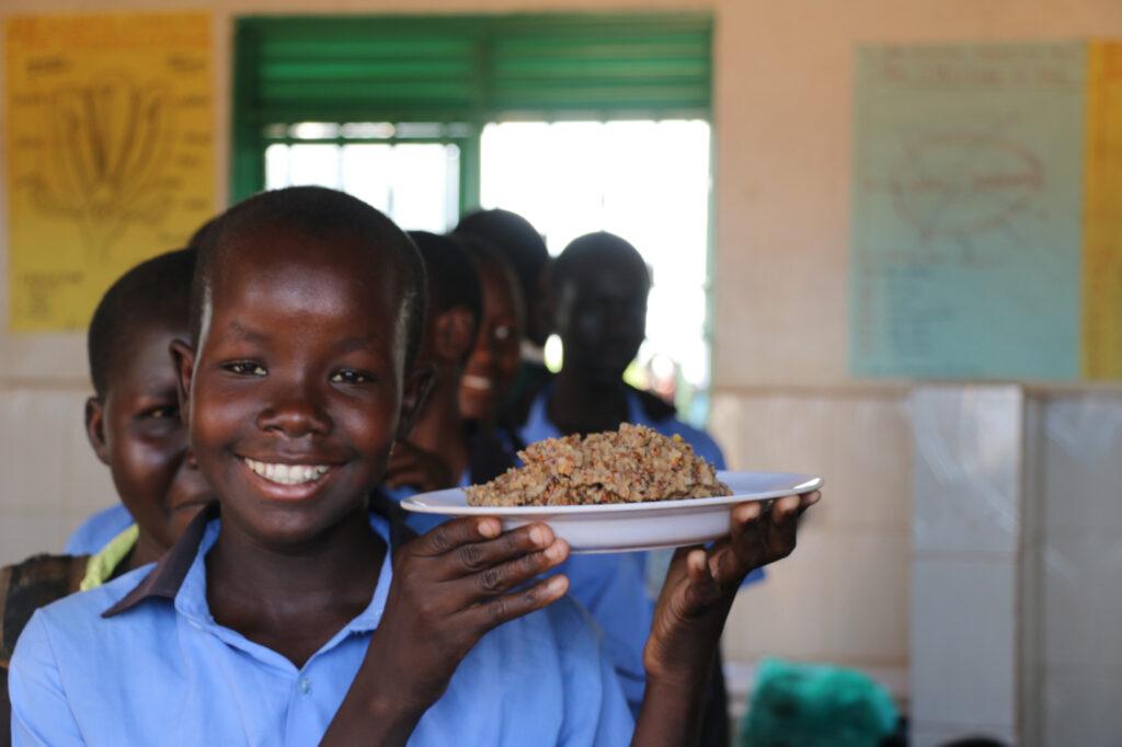 """""""Mother's Meal"""" expande-se para o Sudão do Sul"""