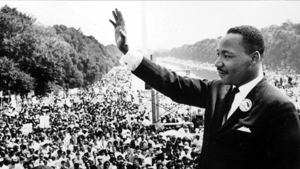 Papa assinala dia de Martin Luther King