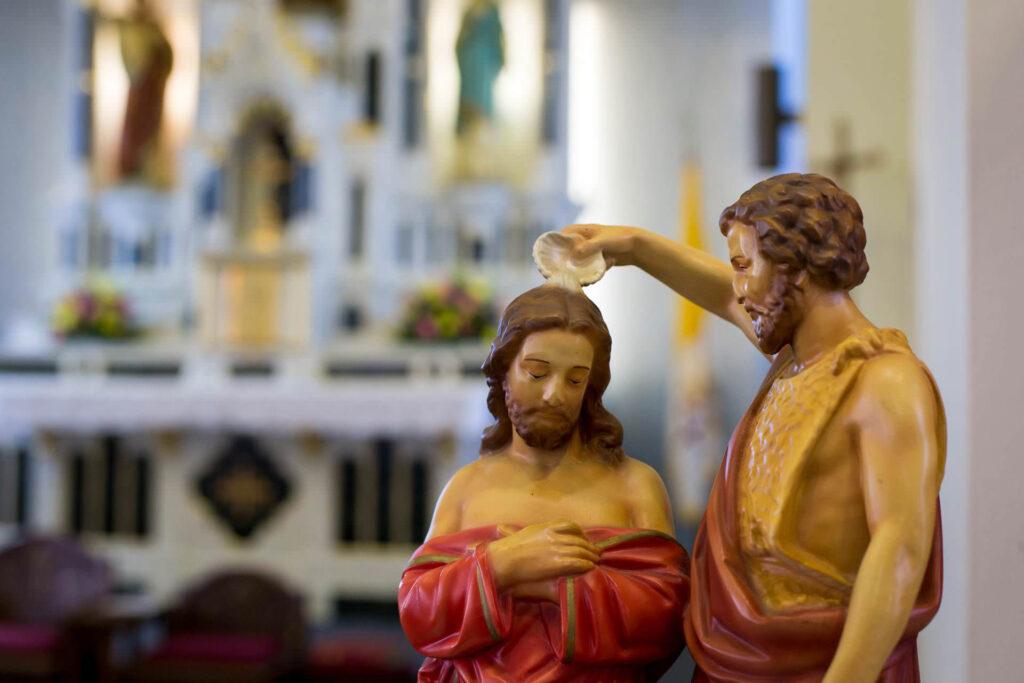 FESTA DO BAPTISMO DO SENHOR ECOOU NA IGREJA DE SÃO DOMINGOS