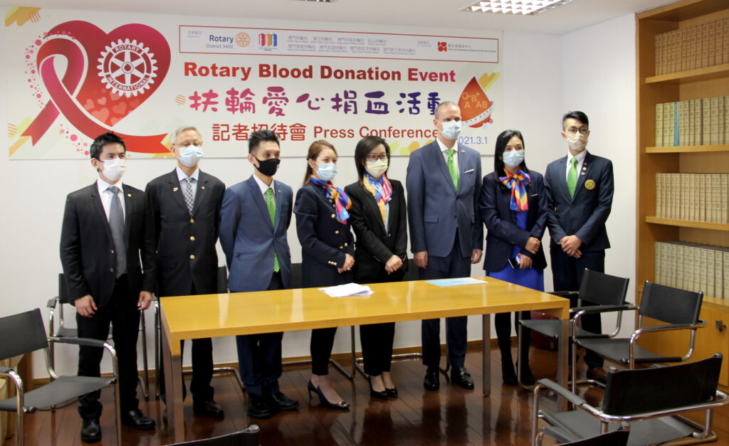 Rotários lançam campanha de doação de sangue