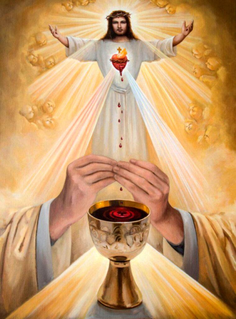 JULHO É DEDICADO AO PRECIOSÍSSIMO SANGUE DE NOSSO SENHOR JESUS CRISTO