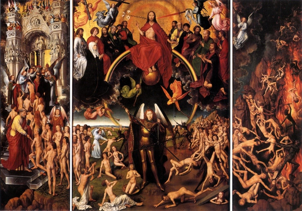 結賬 Hans Memling Last Judgment