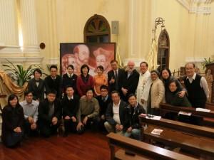 聖方濟各‧沙勿略瞻禮日感恩祭後老師們合照